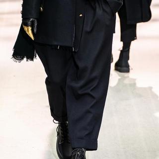 Yohji Yamamoto - yohji yamamoto 19aw ビンテージギャバパンツ