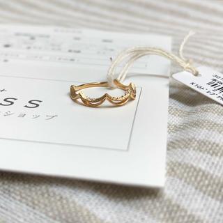ノジェス(NOJESS)の新品 ノジェス  ドレープ リング(リング(指輪))