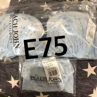 ピーチジョン(PEACH JOHN)のピーチジョン ブラセット E75(ブラ&ショーツセット)