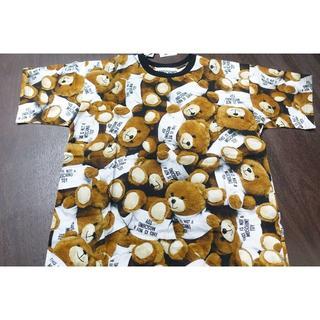 モスキーノ(MOSCHINO)のmoschino モスキーノ Tシャツ マルチ くま ベアー (Tシャツ(半袖/袖なし))