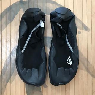 クイックシルバー(QUIKSILVER)の 【送料込み】リーフブーツ クイックシルバー 27センチ(靴底裏サイズ)(サーフィン)