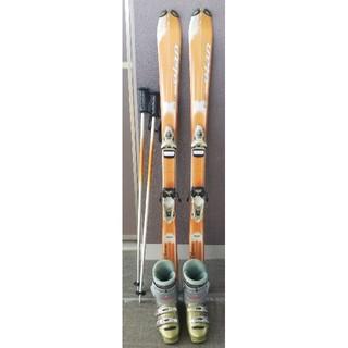 エラン(Elan)のスキー、ブーツ、ストックセット(板)