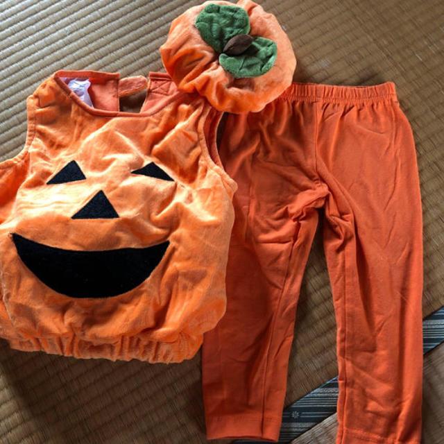 コストコ(コストコ)のハロウィンかぼちゃ エンタメ/ホビーのコスプレ(衣装)の商品写真