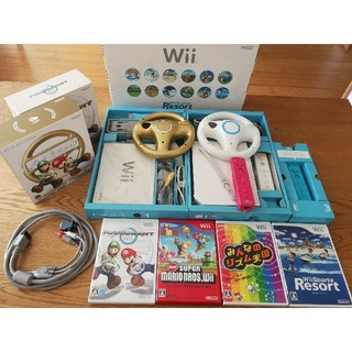Wii - Wii本体 ソフトセット 動作確認済み