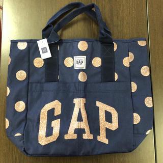 GAP - GAP ラメロゴ入りトートバッグ