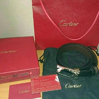 カルティエ(Cartier)の【未使用】Cartier カルティエ ダブルCベルト(ベルト)