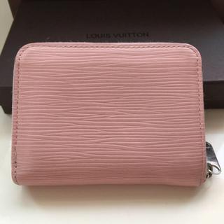 LOUIS VUITTON - 正規品ルイヴィトンエピ コインバース コインケース カード入れ ピンク