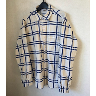アンユーズド(UNUSED)のUNUSED 18ss check nel shirt(シャツ)