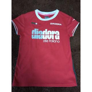 DIADORA - ディアドラ レディーステニスウェア レッド M