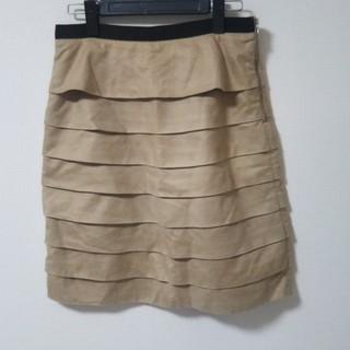ストラ(Stola.)のストラ Stola. ティアードスカート  膝丈 フリル(ひざ丈スカート)