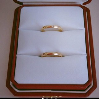 カルティエ(Cartier)のカルティエマリッジリング♡ペアリング♡18Kピンクゴールド(リング(指輪))