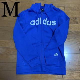 アディダス(adidas)のアディダス メンズ パーカー M 裏起毛 DM3128(パーカー)