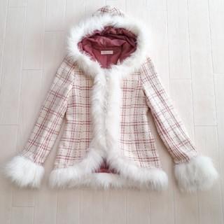 リズリサ(LIZ LISA)のLIZLISA♡ファー付ショートコート(毛皮/ファーコート)