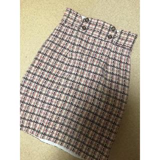 リランドチュール(Rirandture)のリラ♡ツイードスカート(ひざ丈スカート)