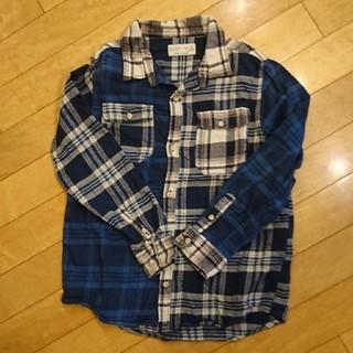 ザラキッズ(ZARA KIDS)のZARAボーイズ  ネルシャツ  128センチ(ブラウス)