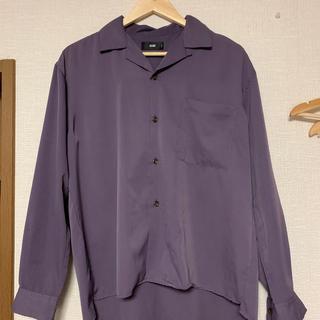 ハレ(HARE)のHARE オープンカラーシャツ 紫(シャツ)