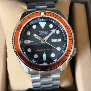セイコー(SEIKO)の専用品‼️セイコーダイバー SKX007 ブラックボーイカスタム(腕時計(アナログ))