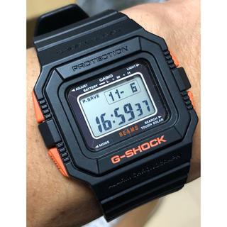 ジーショック(G-SHOCK)のコラボ/G-SHOCK/時計/ビームス/別注/限定/黒/箱付/ソーラー/スクエア(腕時計(デジタル))
