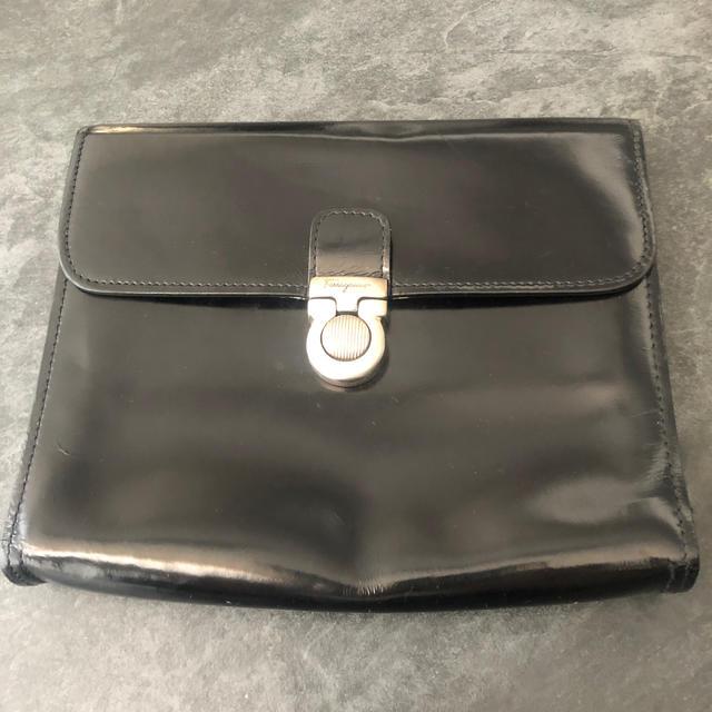 Salvatore Ferragamo(サルヴァトーレフェラガモ)のフィラガモ セカンドバッグ メンズ メンズのバッグ(セカンドバッグ/クラッチバッグ)の商品写真