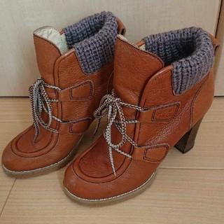 シーバイクロエ(SEE BY CHLOE)のシーバイクロエ ショートブーツ 23cm36レザー(ブーツ)