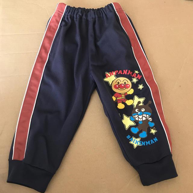 アンパンマン(アンパンマン)のアンパンマン ジャージ ズボン 90 キッズ/ベビー/マタニティのキッズ服 男の子用(90cm~)(パンツ/スパッツ)の商品写真