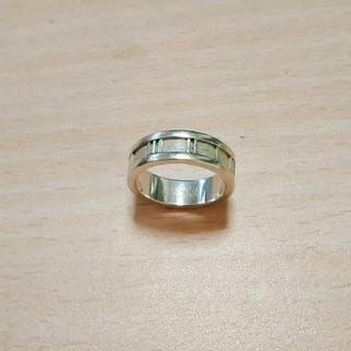 ティファニー(Tiffany & Co.)のティファニー  アトラス  リング  約14号  シルバー  アクセサリー(リング(指輪))
