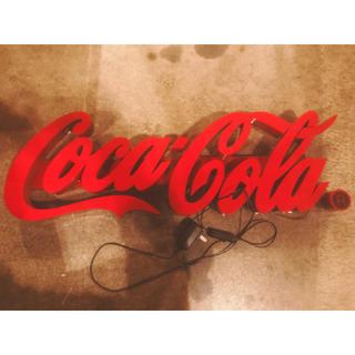コカ・コーラ - コカコーラ ネオン照明LED