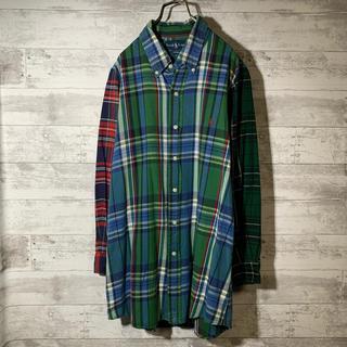 ラルフローレン(Ralph Lauren)のRALPH LAUREN ラルフローレン マルチバイカラーBDチェックシャツ(シャツ/ブラウス(長袖/七分))