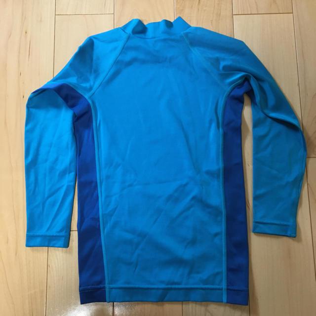 mont bell(モンベル)のモンベル ラッシュガード 110 キッズ/ベビー/マタニティのキッズ服 男の子用(90cm~)(水着)の商品写真