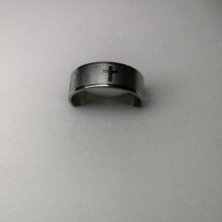 十字架 新品 ファッションリング 22号 rb18(リング(指輪))