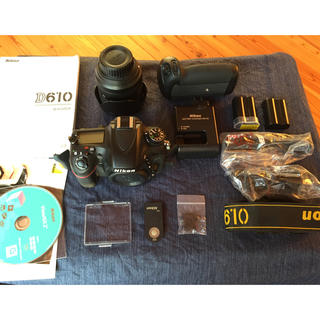 Nikon - Nikon D610 レンズ&バッテリーパック付き
