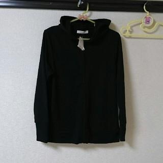【新品未使用】黒のパーカー