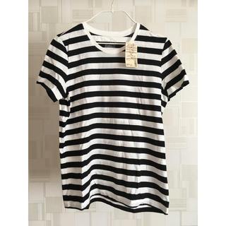 MUJI (無印良品) - 無印 タグ付き白×黒 Tシャツ