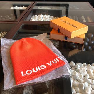 ルイヴィトン(LOUIS VUITTON)のLOUIS VUITTON cup ニット帽子 未使用品(ニット帽/ビーニー)