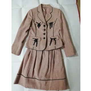 ロイスクレヨン(Lois CRAYON)のLois CRAYON ツイードジャケット&スカート(セット/コーデ)