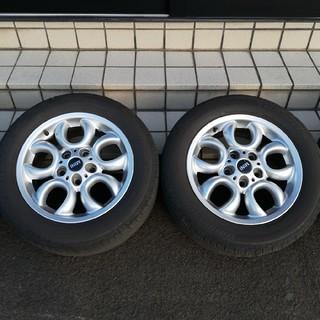 ビーエムダブリュー(BMW)のBMW MINI R60 ミニクロスオーバー  美品純正アルミ205/60R16(タイヤ・ホイールセット)