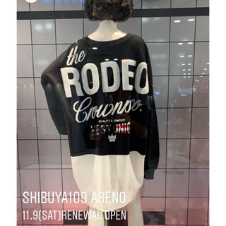 RODEO CROWNS WIDE BOWL - RCWB✳︎阿倍野109限定バイカラーBYワンピース✳︎ブラックのみラスト‼️