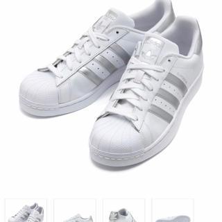 アディダス(adidas)のアディダス スーパースター シルバー(スニーカー)