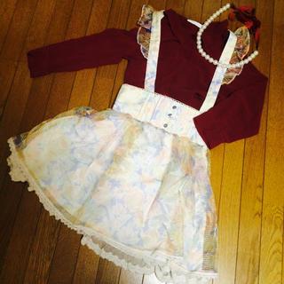 リズリサ(LIZ LISA)の新品♡リズリサジャンスカ(ひざ丈スカート)