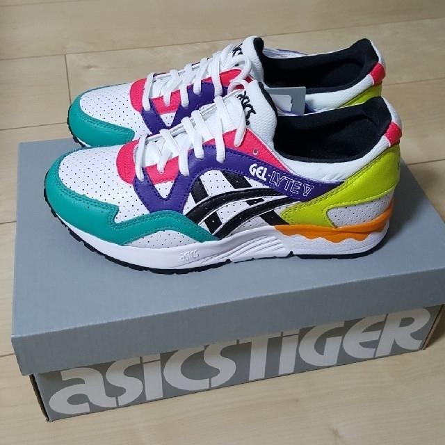 asics(アシックス)の新品未使用 アシックスタイガー ゲルライト 23.5 アシックス  レディースの靴/シューズ(スニーカー)の商品写真