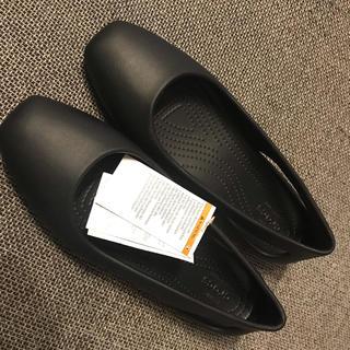 クロックス(crocs)のクロックス スクエアトゥ 新品 26cm ❣️(サンダル)