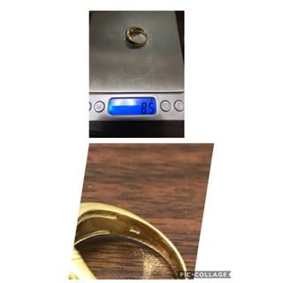 TEN様専用 18金リング二本 ダイヤモンド(リング(指輪))