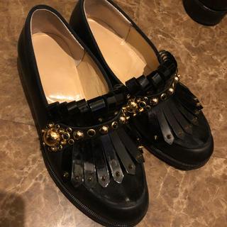 クリスチャンルブタン(Christian Louboutin)のクリスチャンルブタンchristian louboutin スタッズ ローファー(ローファー/革靴)