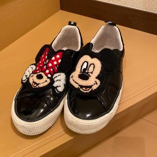 ZARA - ZARAディズニー靴23.5