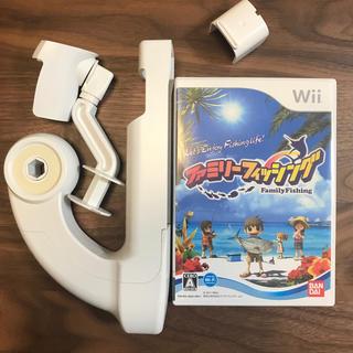 Wii - ファミリーフィッシング<さおコン同梱版> Wii