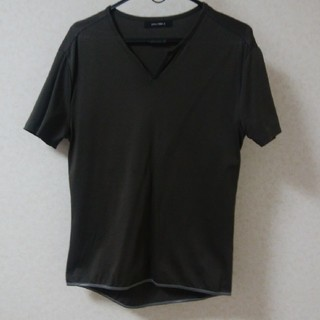 COMME CA MEN - メンズLサイズ 半袖カットソー platinum COMME CA プラチナコム