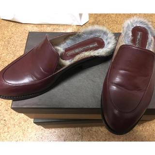 ペリーコ(PELLICO)のPELLICO SUNNYファーローファー35(ローファー/革靴)