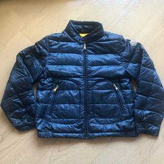 MONCLER - 【美品】モンクレール キッズ ライト ダウン 6歳 120 デニム柄 レア