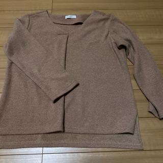 テチチ(Techichi)のサーモンピンクの八分丈ブラウス(シャツ/ブラウス(長袖/七分))