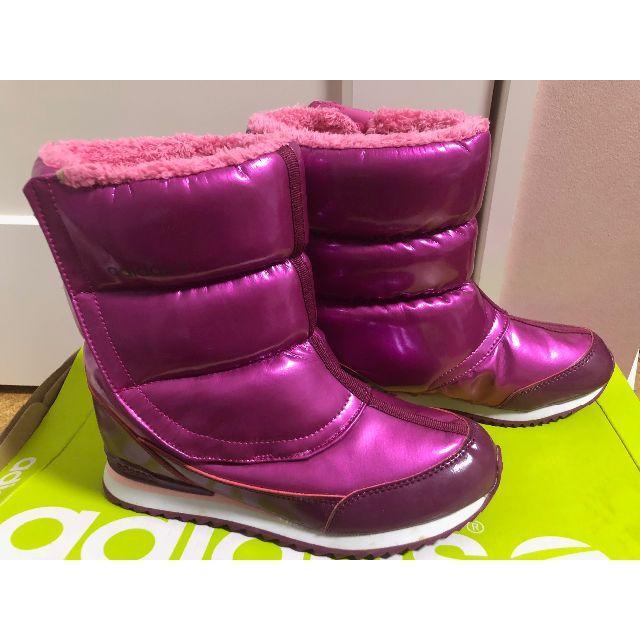 adidas(アディダス)の<未使用>アディダス・スノーブーツ メタリックピンク23.5 レディースの靴/シューズ(ブーツ)の商品写真
